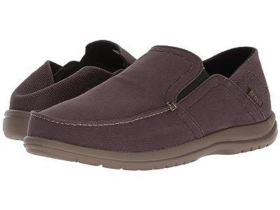 Crocs Santa Cruz Convertible Slip-On (Espresso/Walnut) Men
