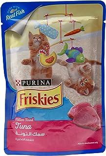 طعام القطط الرطب تونا ديلايت من بورينا فريسكيز ازرق 80 غرام
