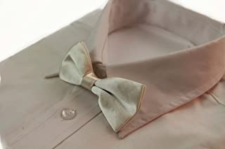 Zasel Boys Ivory Plain Bow Tie