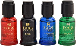 fogg scent gift pack (mini) (prince,czar,tycoon,sultan)