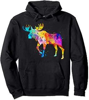 Moose Pullover Hoodie