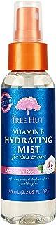 Tree Hut Vitamin B Hydrating Mist Moroccan Rose, 3.2oz, Ultra Hydrating Vitamin Enriched Mist for Nourishing Essential Bod...