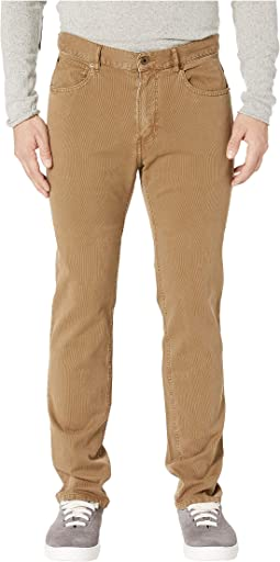 Corduroy Five-Pocket Pants