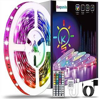 40ft Led Strip Lights Keepsmile RGB Color Changing Led...