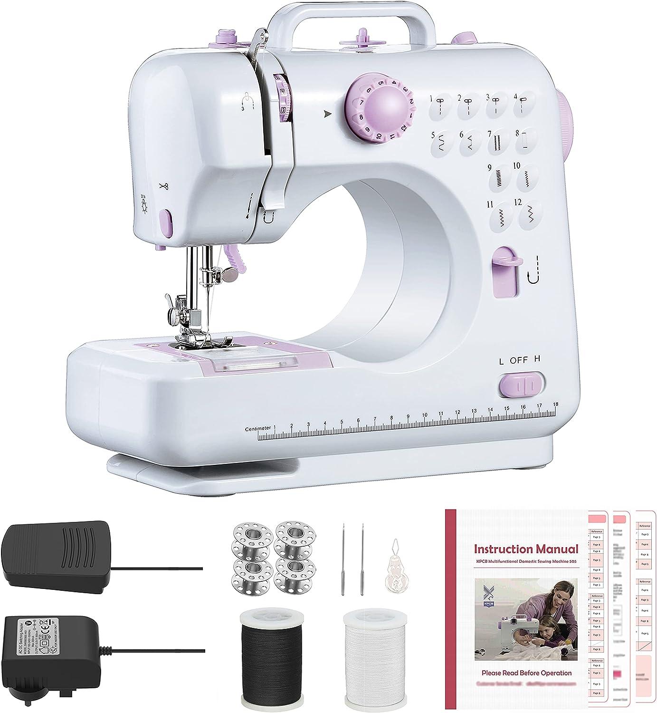 KPCB 505 Max 40% OFF Sewing Max 61% OFF Machine with Size Stitches Mini 12 Backstit