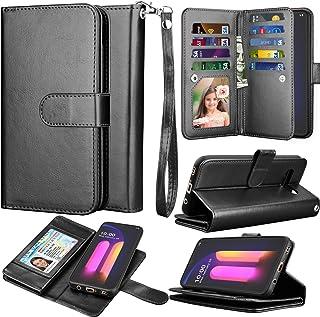 LG V60 ThinQ Case, Wallet Phone Case LG V60/ G9 ThinQ, Takfox PU Leather w 9 ID Credit Card Holder Slots Folio Flip Magnet...