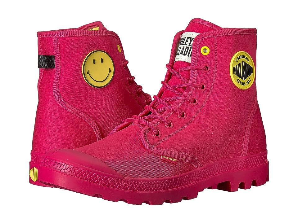 Palladium Pampa Smiley Festbag (Azalea) Lace up casual Shoes