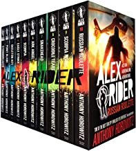 Alex Rider Collection 9 books Set By Anthony Horowitz. (Scorpia Rising Stormbreaker Point Blanc Skeleton Key Eagle Strike Scorpia Ark Angel Snakehead Crocodile Tears)