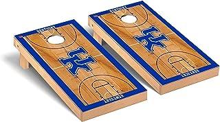Victory Tailgate Regulation Collegiate NCAA Basketball Court Series Cornhole Board Set - 2 Boards, 8 Bags