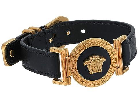 Versace Leather Classic Bracelet