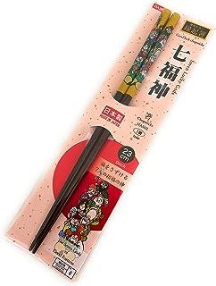 Daiso Good Luck Chopsticks 9.1in Made in Japan (Seven Lucky Gods)