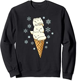 Arctic Fox Ice Cream Sweatshirt