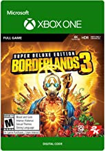 Sponsored Ad - Borderlands 3: Super Deluxe Edition - [Xbox One Digital Code]