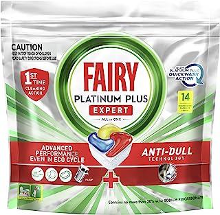 Fairy Platinum Plus Dishwasher Tablets, 14 Tablets