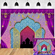 Aladdin Backdrop Photography Vinyl 8x6ft Photo Booth Studio Props Princess Baby Shower Arabian Moroccan Nights Birthday Party Magic Genie Indian Luxurious Photo Background