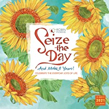 2021 Seize the Day 16-Month Wall Calendar