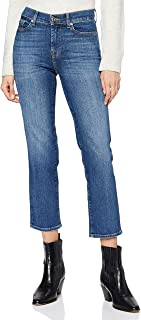7 For All Mankind The Straight Crop Jeans Donna
