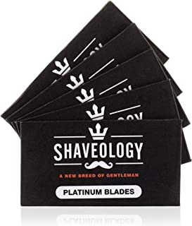 Shaveology Double Edge Safety Razor Replacement Blades - 10 Replacement blades (60 day supply)