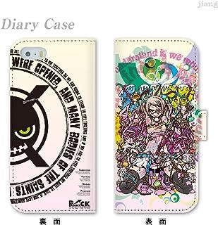 iPhone6 4.7inch ダイアリーケース 手帳型 ケース カバー スマホケース ジアン jiang かわいい イラスト Project.C.K. プロジェクトシーケー色欲 11-ip6-ds0023