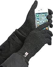 Agloves Unisex Sport Touchscreen Gloves, Black, Small/Medium