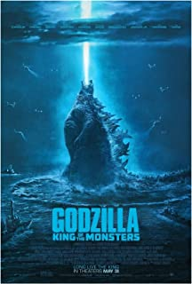 Godzilla King of The Monsters Movie 2019 Art Print Size 13x20 24x36 27x40 32x48 (24