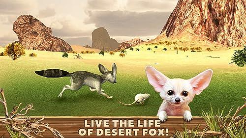 『Fennec Fox Simulator 3D: Desert Wilderness Little Beast Surviving Game』の2枚目の画像