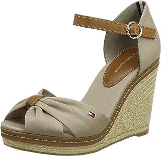 Tommy Hilfiger Kadın Iconic Elena Sandal Moda Ayakkabı FW0FW00905