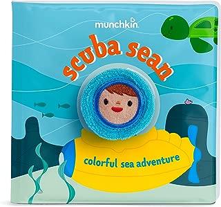Munchkin Soapy Stories Finger Puppet Bath Book, Ocean