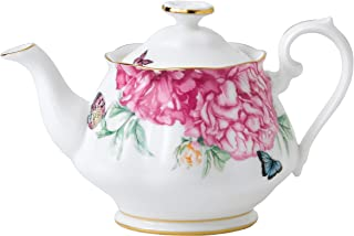 Royal Albert Miranda Kerr 0.45ltr Teapot Friendship, Bone China White, 11.55x12x11 cm