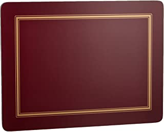 Pimpernel Classic Burgundy Placemats, Set of 6