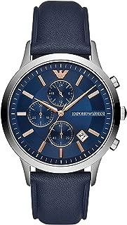 Emporio Armani Renato Chronograph Quartz Blue Dial Men's Watch AR11216