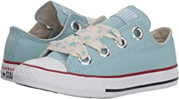Converse Kids Chuck Taylor® All Star® Star Big Eyelets Ox (Little Kid/Big Kid)