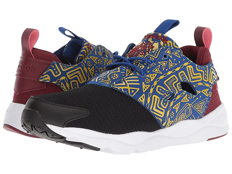 Reebok Furylite AFR (Black/White/Merlot/Harvest Green) Women