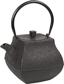 Creative Home 73504 47 oz Cast Iron Tea Pot, Black Color