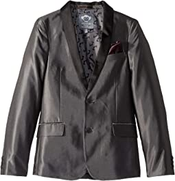 Shawl Collar Blazer with Built in Pocket Square (Toddler/Little Kids/Big Kids)