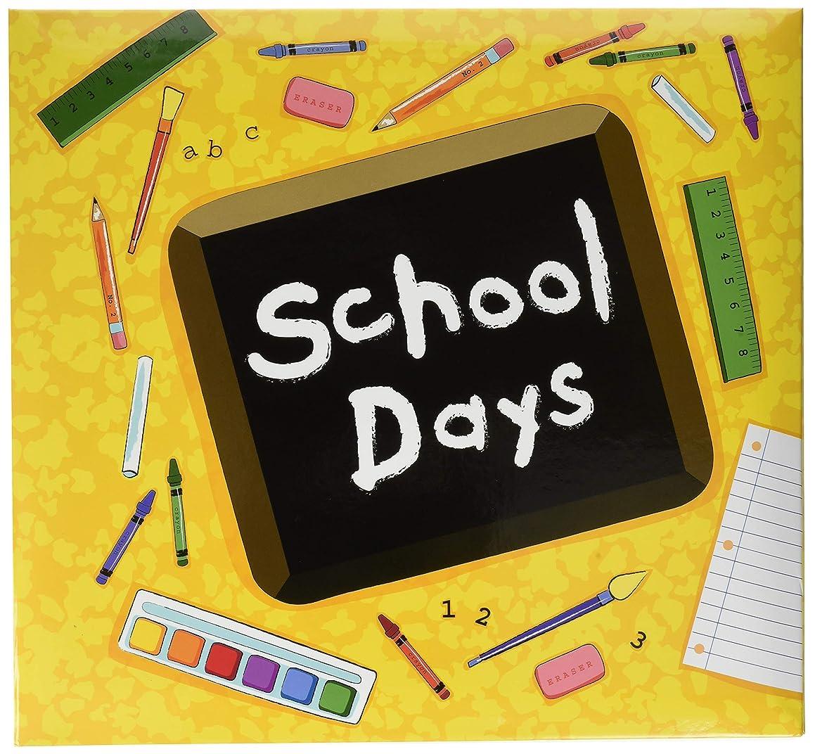 MBI School Days Album, 12 by 12-Inch, Yellow