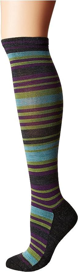 Striped Knee High Light Cushion Socks