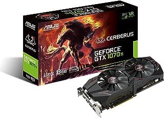 ASUS CERBERUS-GTX1070TI-A8G GeForce GTX 1070 Ti 8 GB GDDR5 - Tarjeta gráfica (GeForce GTX 1070 Ti, 8 GB, GDDR5, 256 bit, 7680 x 4320 Pixeles, PCI Express 3.0)