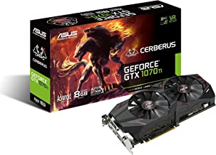 ASUS Advanced Edition - Graphics Card - GF GTX 1070 Ti - 8 GB GDDR5 - PCIe 3.0 x16 - DVI, 2 x HDMI, 2 x DisplayPort