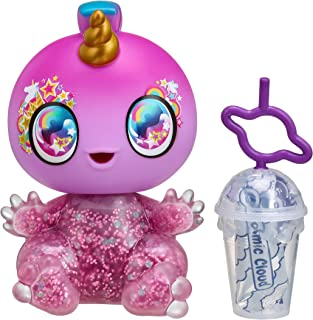 Goo Goo Galaxy 5 inch Doll, Yumi Unicorn with Squeezer Belly & DIY Slime Activity