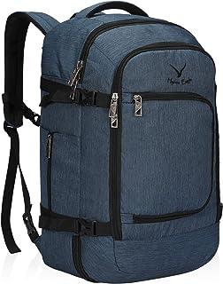 Bolsa de Viaje 40L Cabin aprobada para Viajar en Cabina como Equipaje de Mano 55x40x20 cm (Azul, Mochila)