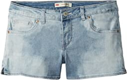Levi's® Kids Best Coast Denim Shorty Shorts (Toddler)