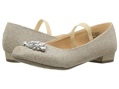 Badgley Mischka Kids Marina Stones (Little Kid/Big Kid) (Light Gold Shimmer) Girls Shoes