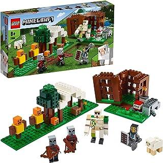 LEGO Minecraft Kryjówka rozbójników 21159 — świetny zestaw z figurkami do zbudowania dla dzieci. Prezent dla fanów Minecra...