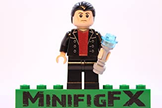 Lego Custom Printed DOCTOR WHO 9th Doctor Christopher Eccleston Minifigure with Sonic Screwdriver