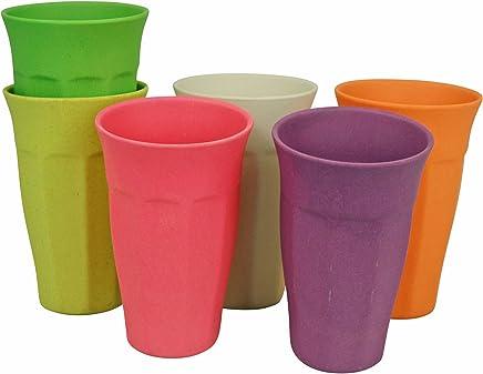 Preisvergleich für zuperzozial Getränkebecher X-Large (400 ml) 6er Set – Rainbow