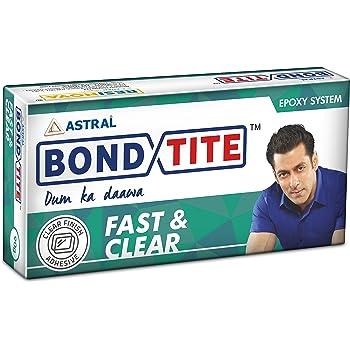 Resinova Bondtite Fast & Clear Epoxy Adhesive (36g) Pack of 12