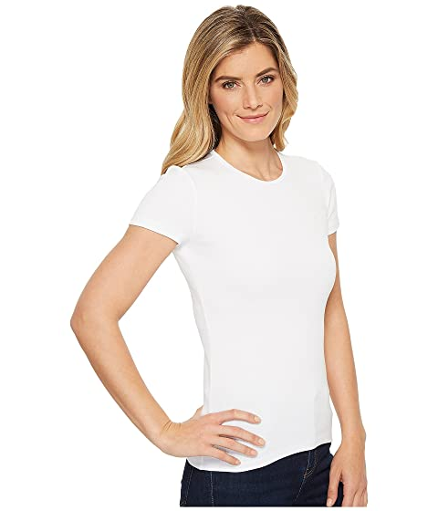 LAUREN Ralph Lauren Cotton Short Sleeve Tee White 100% Authentic Cheap Price Low Price Sale Extremely Cheap Online 2018 Unisex Up To Date f9YIV9Z0