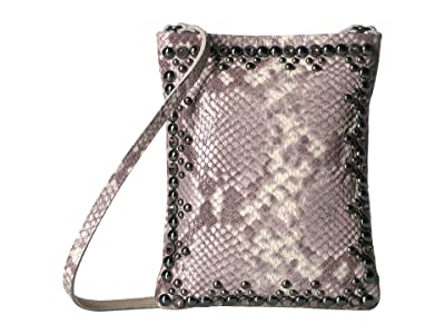 Leatherock Yvette Cell Pouch (Snake Beige) Cross Body Handbags