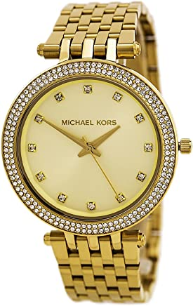 2811805649f3 Amazon.com  Michael Kors Women s MK3216 Darci Yellow Gold Stainless Steel  Watch  Michael Kors  Watches